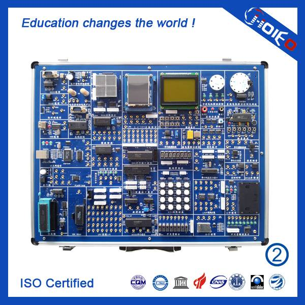 Microcontroller and Configuration Experiment System,Latest Electronic Device,Vocational Electrical T