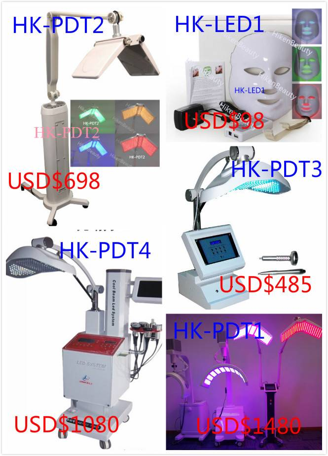 PDT LED light therapy for acne removal/led pdt machine