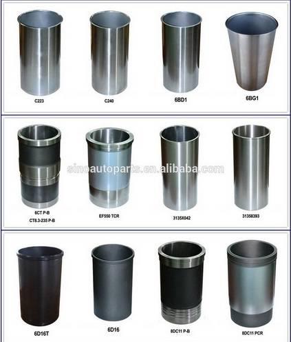 Auto Parts Cylinder Liner for Komatsu