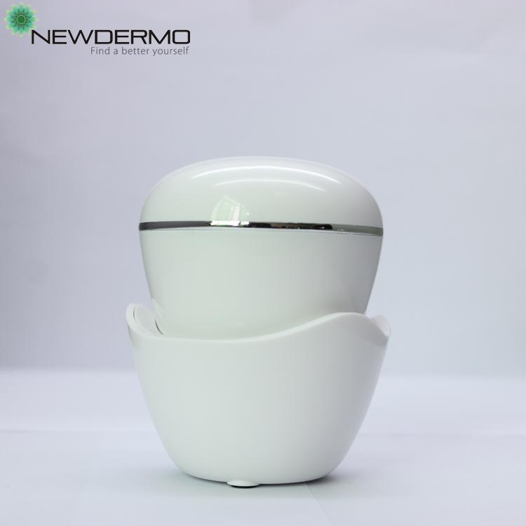 portable ultrasonic face skin scrubber peeling vibration massage electric facial brush