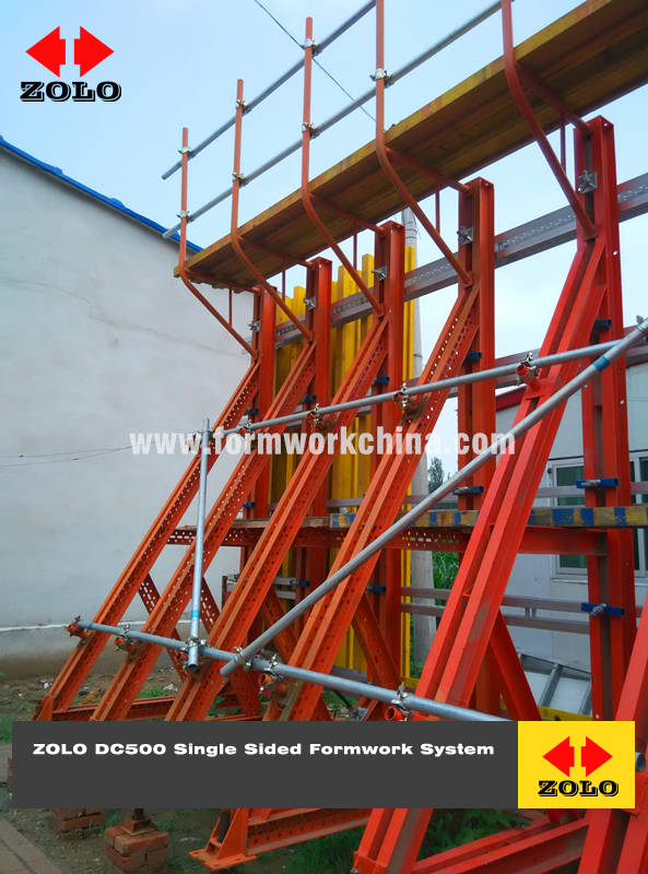 Zolo Single Sided Formwork System