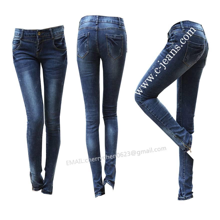 Original Cotton Designer Bootcut Denim Ladies Women Jeans Trousers