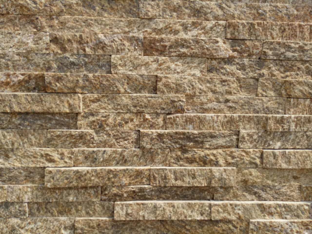 yellow cultured stone stack stone 60x15cm