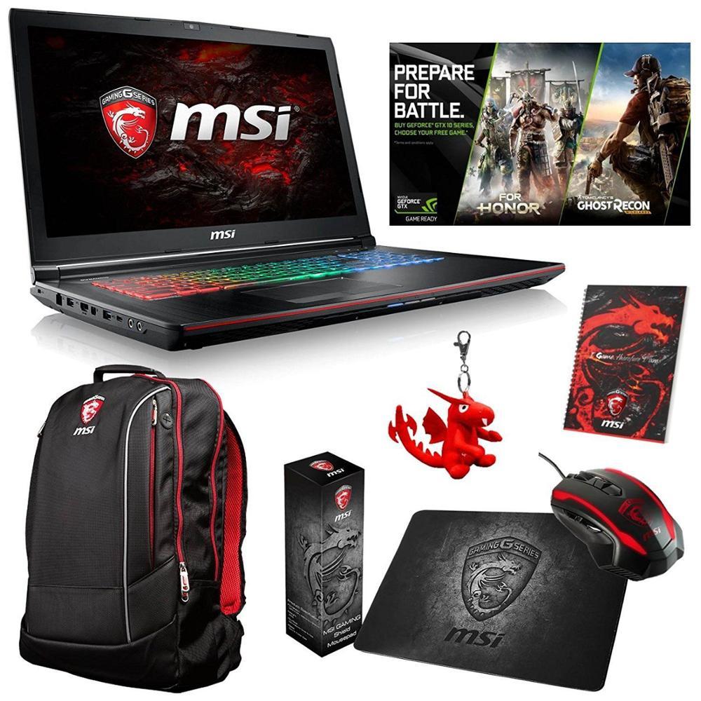 "NEW RTX 2080 gaming laptop MSI GT75 17.3"" 4K Ultra HD Gaming Laptop - Intel Core i9 - 32GB Memory 1T"
