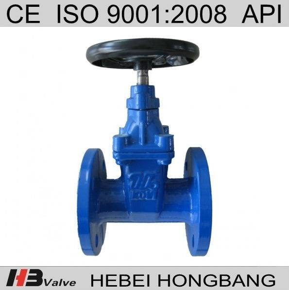 DN65-DN300 Ductile Iron Soft Seated Gate Valve