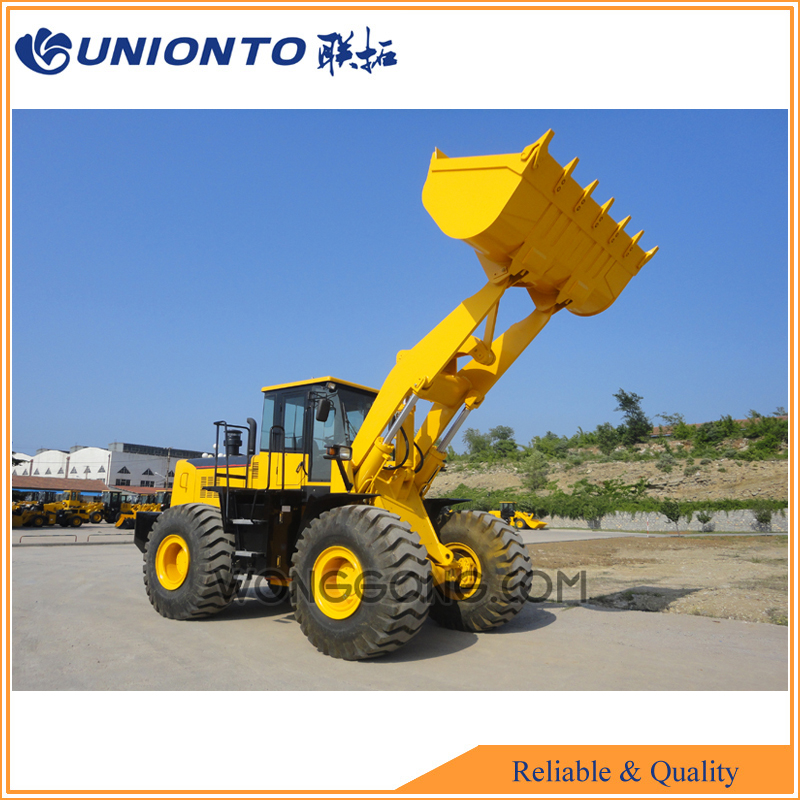 2017 industrial use UNIONTO 866 wheel loader small backhoe loader for sale