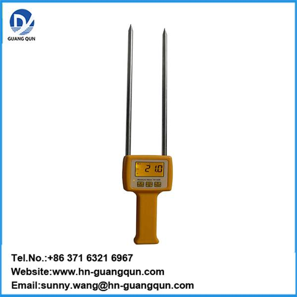 TK100S Grain Moisture Meter Handheld with Electrical Resistance Method, Automatic temperature Compen