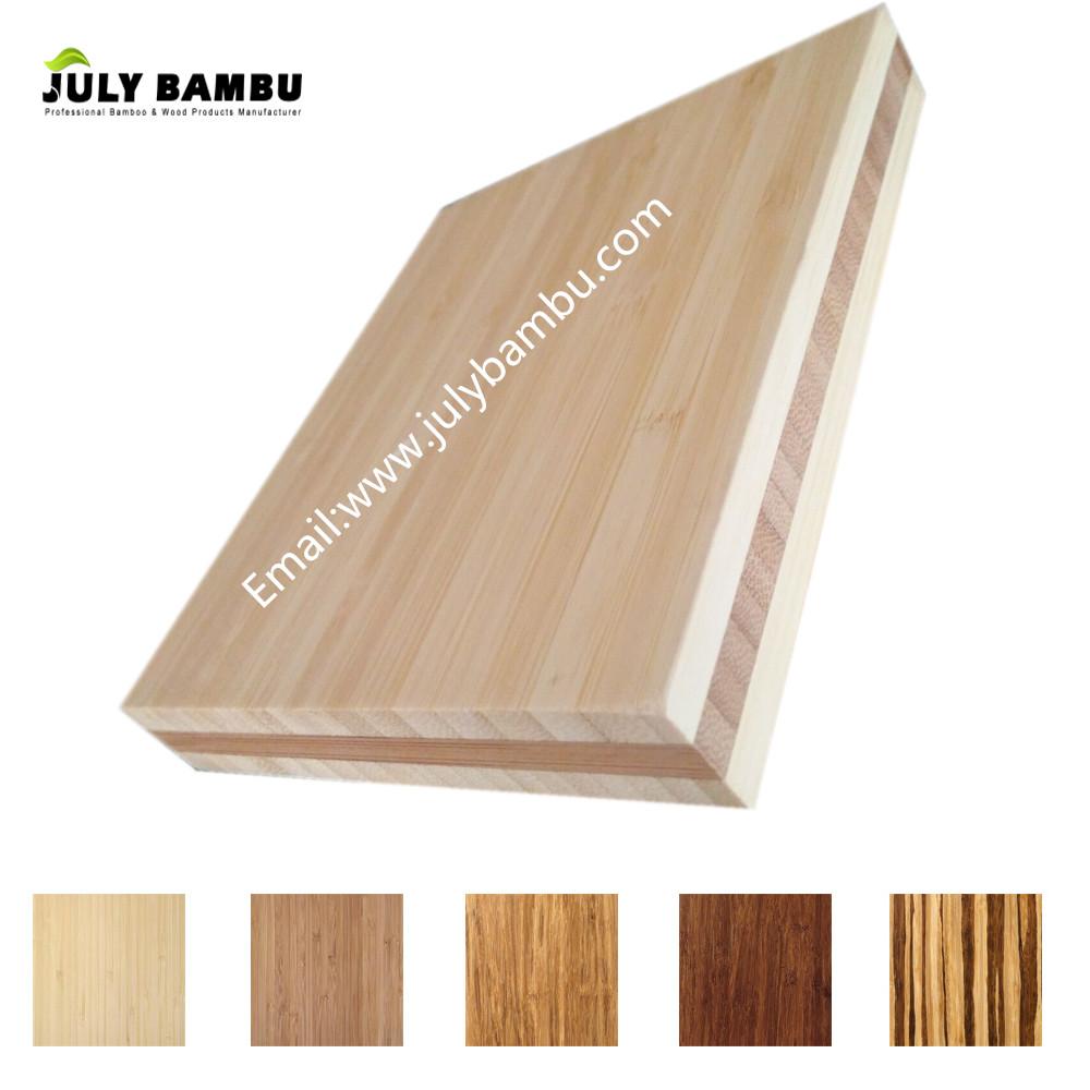 Factory Price Bambu 3 Ply Laminated Lumber for Furniture