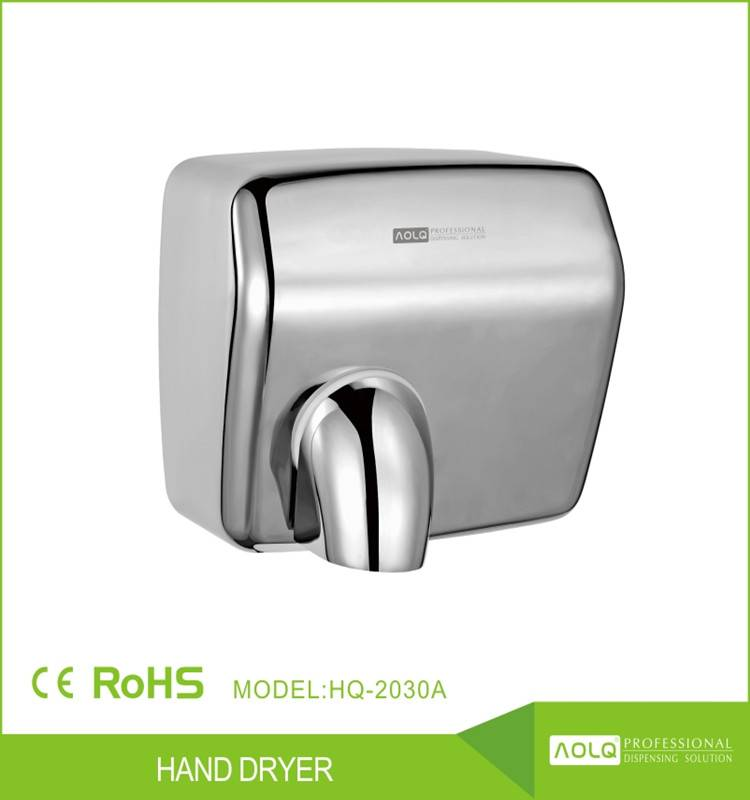 stainless steel jet air electric automatic hand dryer