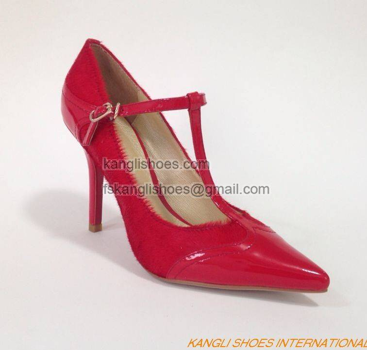 Lady Fashion High Heel Dress Sandal Shoes