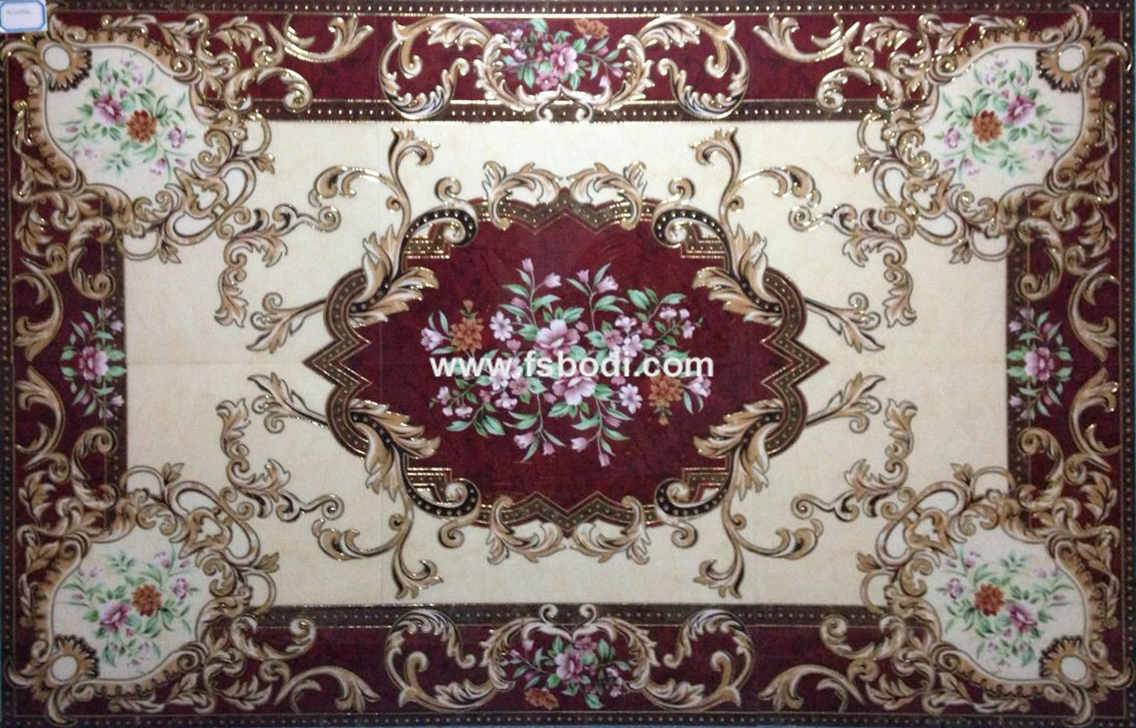 Golden Porcelain Carpet Tile Manufacturer