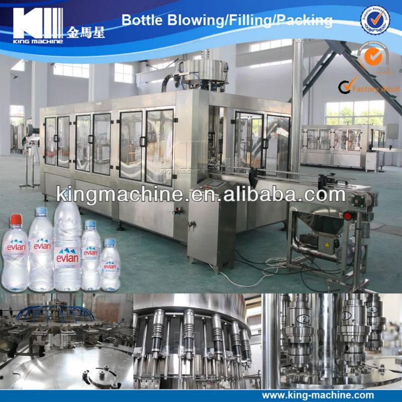 Water Filling Machine Water Treatment Plant