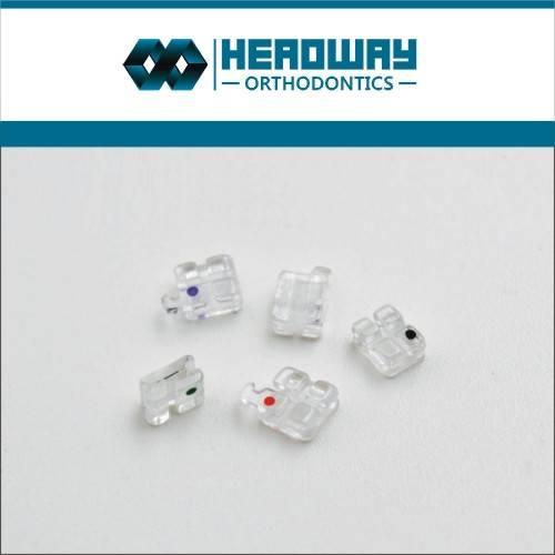Headway Ceramic Sapphire Orthodontic Brackets