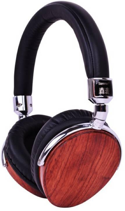 Wooden headphone
