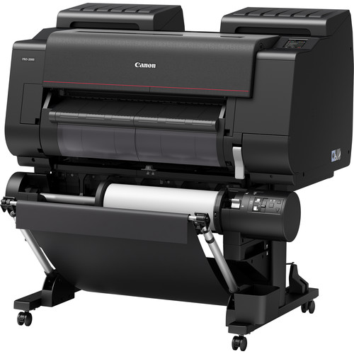 Canon imagePROGRAF PRO-2000 24in Printer With Multifunction Roll Unit System (ArizaPrint)