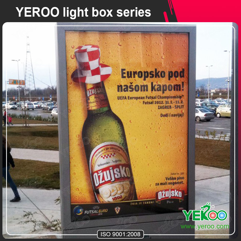 Customzied Advertising Scrolling Light Box Manufacture