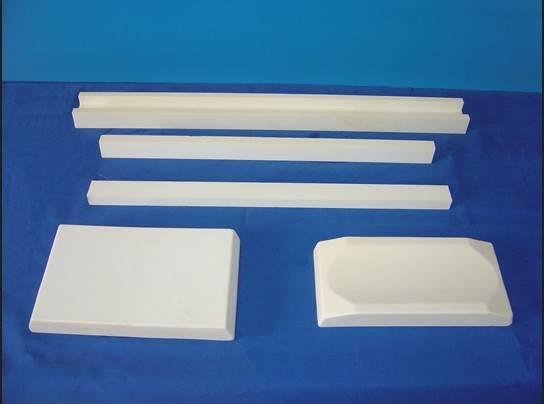 aluminium oksida mengenakan-tahan keramik piring