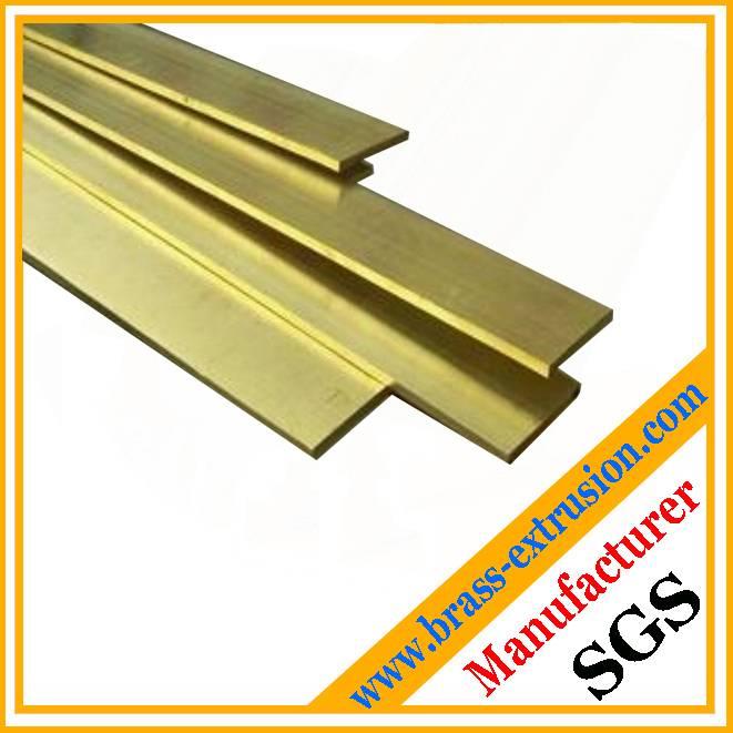 flat brass copper bars