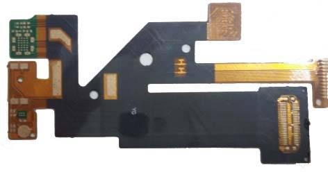 The rigid-flex ultrathin pcb board by shenbei factory