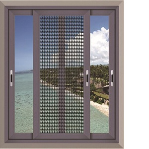 Aluminum alloy slide windows