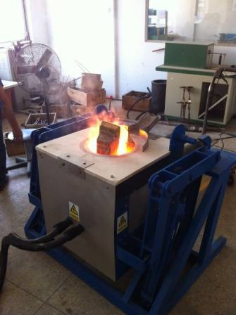 Induction Melting Furnace for gold/silver/steel/copper 200KW