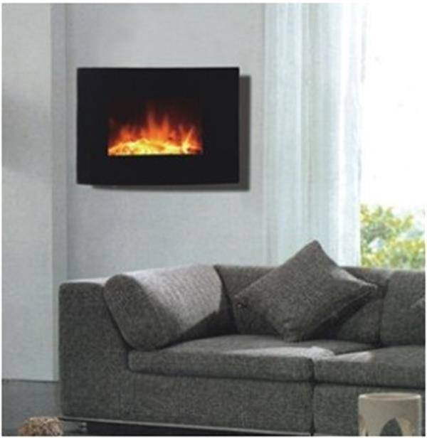 China cheap and good quality wall mounted electric fireplace
