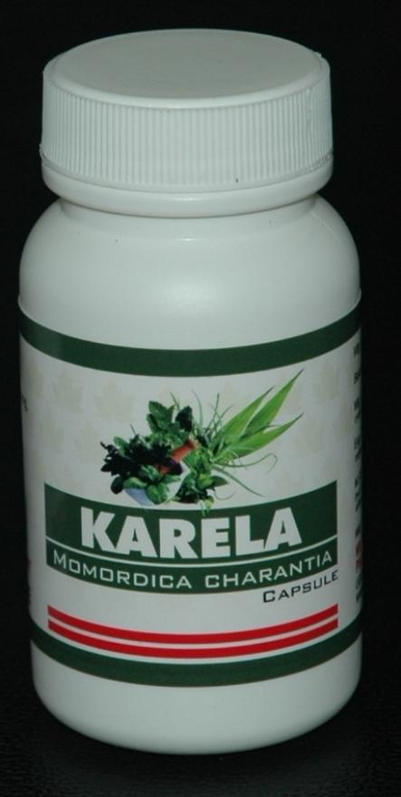Karela (Momordica Charantia) Capsule (90 Capsules)
