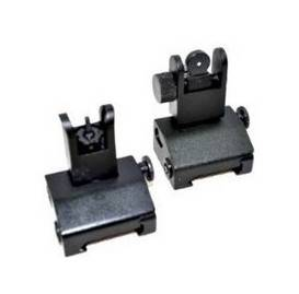 Tactical Flip up Front and Rear Back up Iron Sight