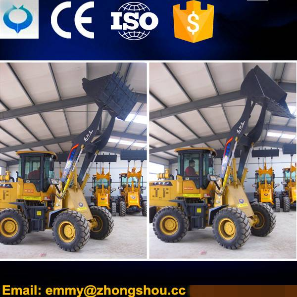 Machinery shoveling Wheel Loader ZL-928 With Free Spare Parts