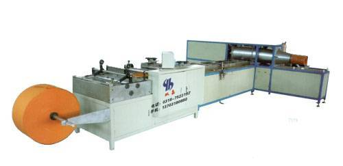 Automatic Pleated Paper Gluing Loading Machine