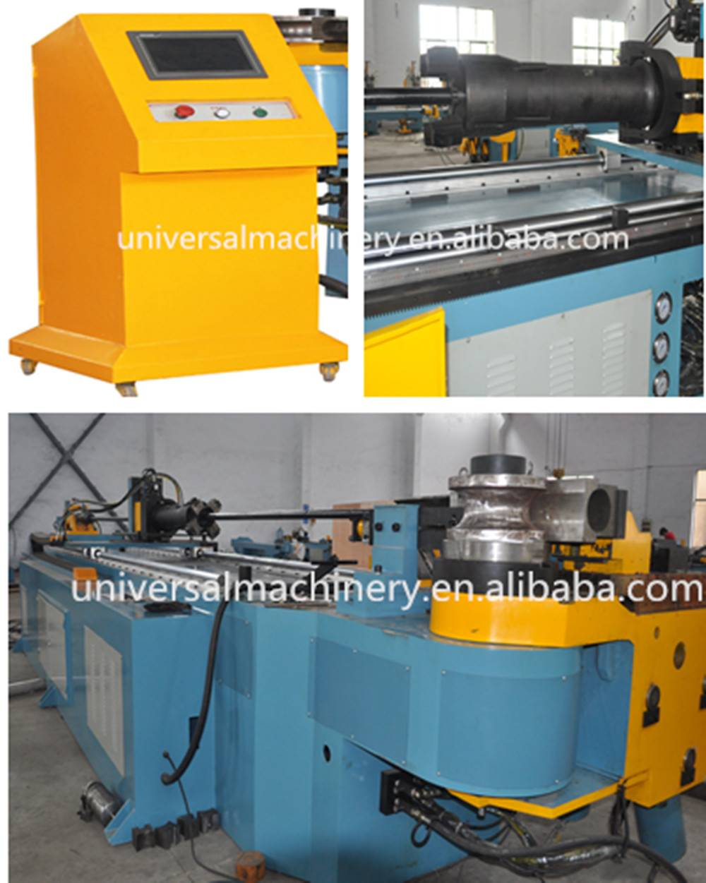 China factory price big diameter servo Automatic CNC Pipe Bending Machine