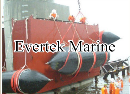 China salvage heavy lifting marine rubber airbag