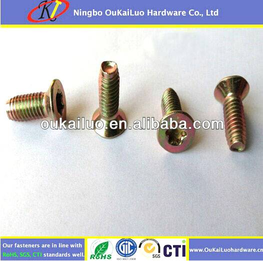 Torx Flat Head Trilobular Thread Forming Screws