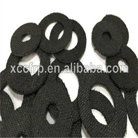 Excellent Abrasion Resistance Coarse Surface Carbon Fiber Drag Washer Plate 1mm (400*500*1mm)
