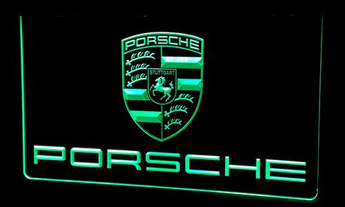 LS217-g Porsche Neon Light Sign