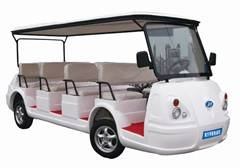 11 Sets Electric Sightseeing Car With White Color