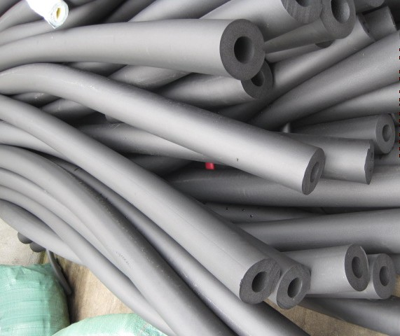 NBR / PVC rubber insulation pipe