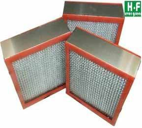 Thermostable Deep-pleated HEPA Filter