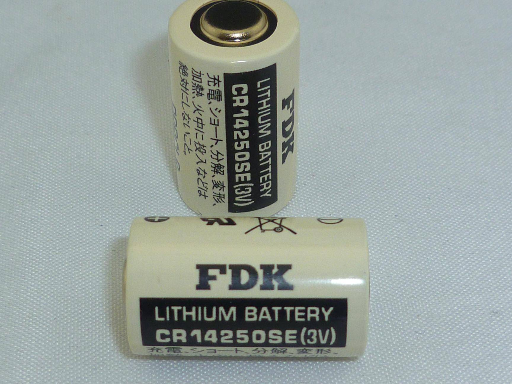 3V Lithium Battery FDK CR14250SE