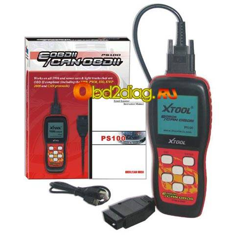 EOBDII/CAN OBDII Scanner PS100