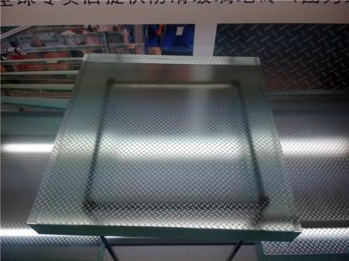 6.38/8.38/10.38/20mm thick laminated glass for stair treads