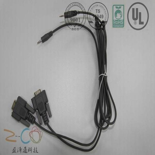 cable assembly for audio and other application