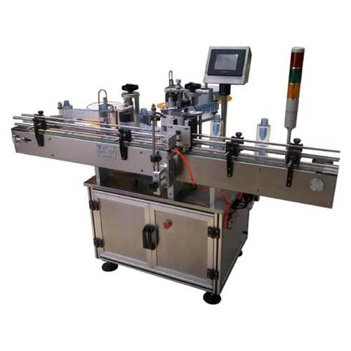 Round Bottle Self-Adhesive Sticker Labeling Machine
