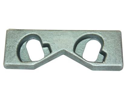 crane rail plate