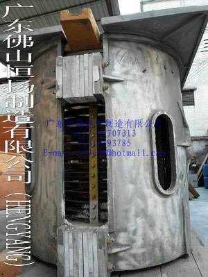Low Pollution Steel Melting Furnace