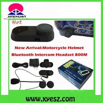 Motorcycle Helment Bluetooth Intercom Headset