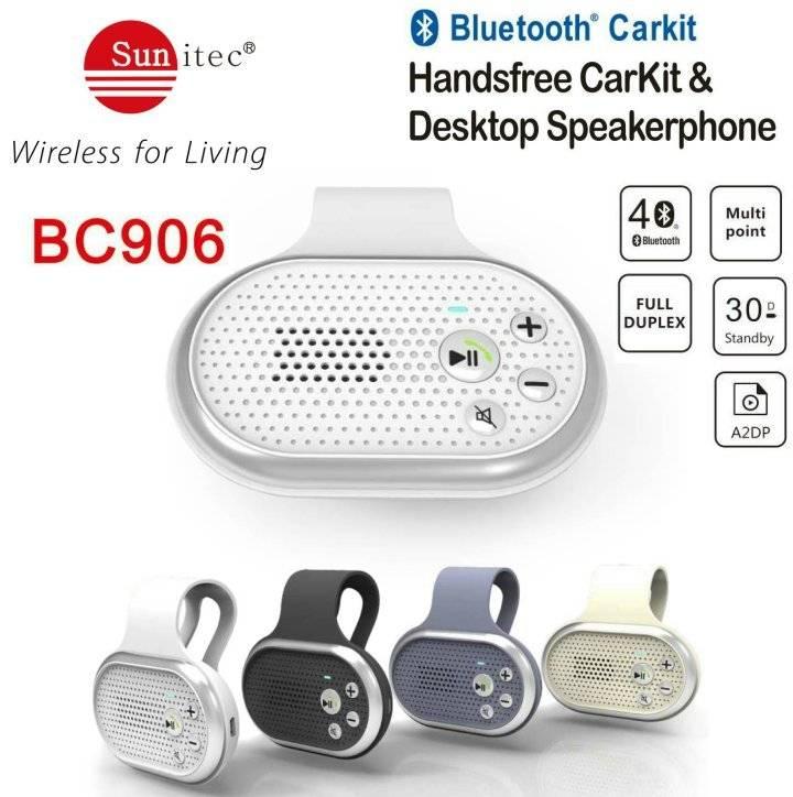 Universal bluetooth carkits wireless in-car speakerphone
