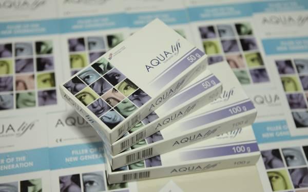 Aqualift filler 100g, Hydrophilic gel Aqualift