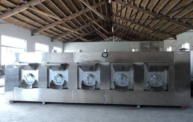 Automatic Peanut Roasting Machine