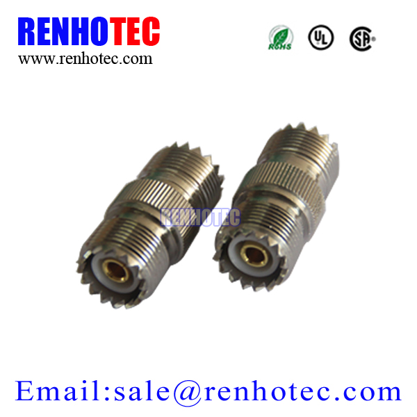 RF coaxial UHF connector